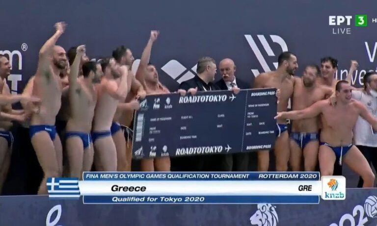 Εθνική Ελλάδας Πόλο: Οι πανηγυρισμοί των παικτών για την πρόκριση στους Ολυμπιακούς του Τόκιο (vids)