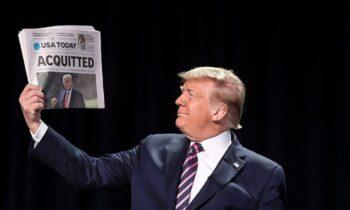 ΗΠΑ: Αθώος ο Ντόναλντ Τραμπ για την επίθεση στο Καπιτώλιο