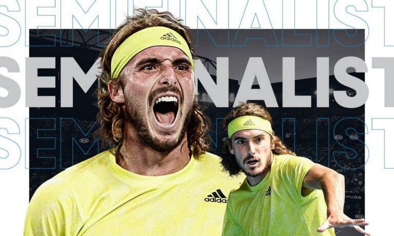Τσιτσιπάς: Έχει μπροστά μία τεράστια πρόκληση: Τη νίκη επί του Ντανίλ Μεντβέντεφ που θα σημάνει πρόκριση στον τελικό στο Αυστραλιανό Όπεν!
