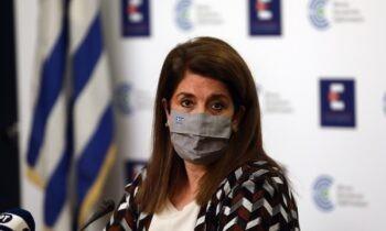 Ενεργά κρούσματα: Η Βάνα Παπαευαγγέλου δεν έστειλε ενθαρρυντικά μηνύματα αναφορικά με την απόδοση των μέτρων σε ένα ακόμη lockdown...