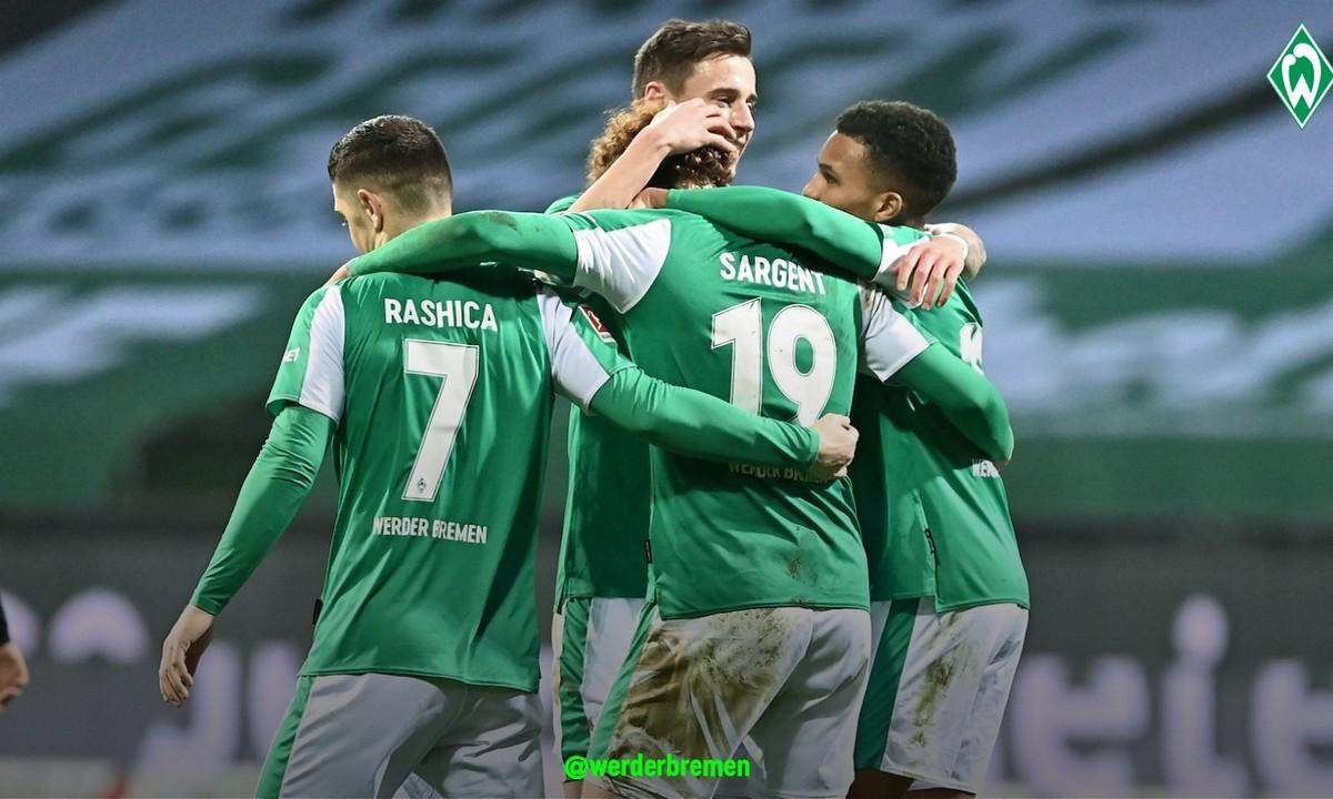 Βέρντερ Βρέμης: Έβαλε τέλος στο αήττητο σερί των 11 αναμετρήσεων της Άιντραχτ Φρανκφούρτης στην Bundesliga, καθώς τη νίκησε με 2-1.
