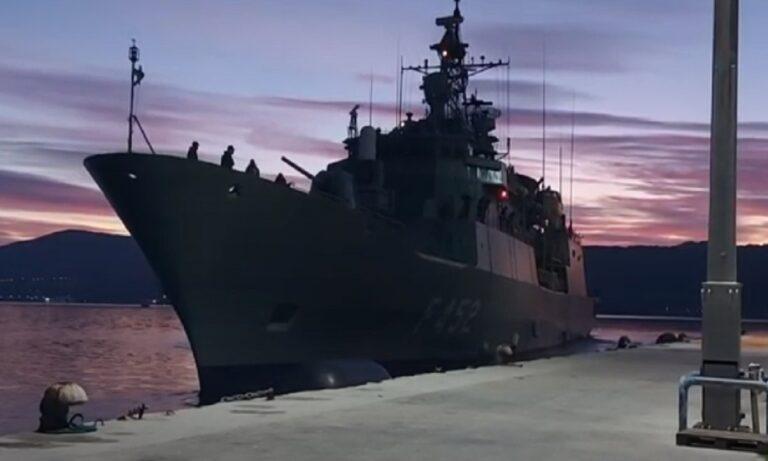 Πολεμικό Ναυτικό: Την Κυριακή (7 Φεβρουαρίου) η φρεγάτα (Φ/Γ) ΥΔΡΑ απέπλευσε από το Ναύσταθμο Σαλαμίνας, με προορισμό τα Ηνωμένα Αραβικά Εμιράτα.