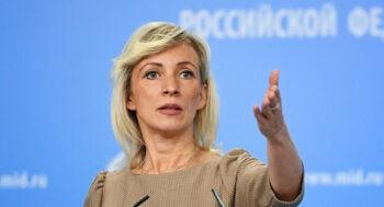 Ρωσία: Oι ασκήσεις των ΗΠΑ και της Τουρκίας στη Μαύρη Θάλασσα στρέφονται προφανώς κατά της Ρωσίας, δήλωσε η Μαρία Ζαχάροβα.