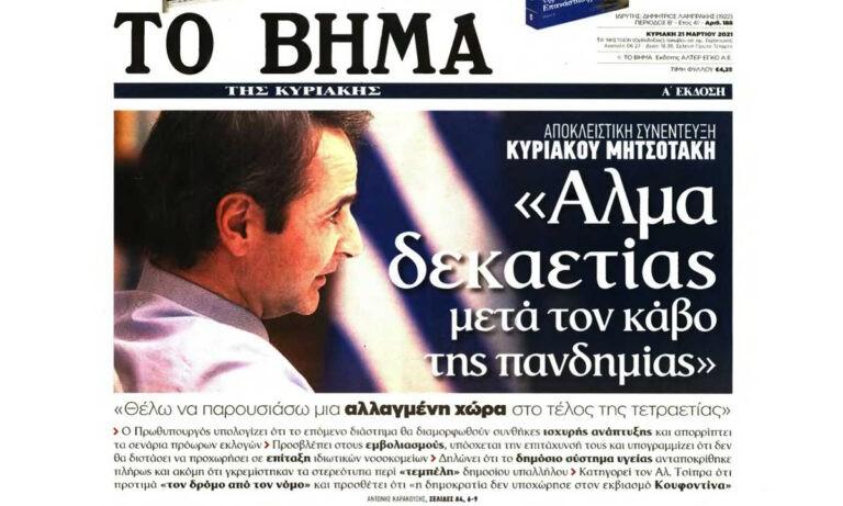 Κυριάκος Μητσοτάκης – Τι λέει για διαδηλώσεις, αστυνομική βία, Ελληνοτουρκικά και εκλογές