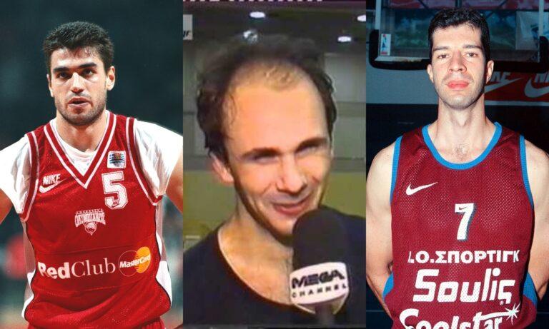 Ο Γιώργος Σιγάλας, ο Γιάννης Γιαννόπουλος και ο Δημήτρης Αβδάλας που έκαναν καριέρα στην Α1 Κατηγορία πριν από χρόνια, βλέπουν τους γιούς τους στα «πράσινα».