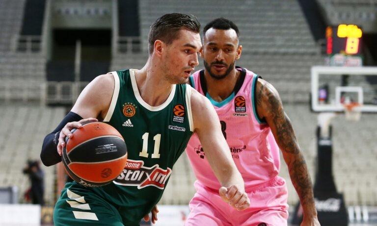 Μετά το τρομερό του ντεμπούτο στην Euroleague κόντρα στην Μπαρτσελόνα ο Μάριο Χεζόνια άφησε τα διαπιστευτήρια του και στην πρώτη του εμφάνιση στην Basket League.