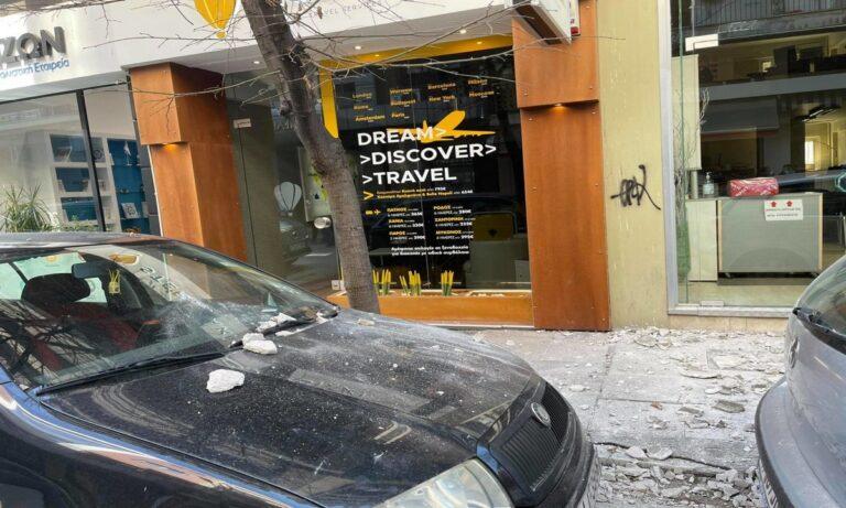Σεισμός 5,9 Ρίχτερ: Καταστροφές στη πόλη της Λάρισας – Έπεσαν σοβάδες! (pics)