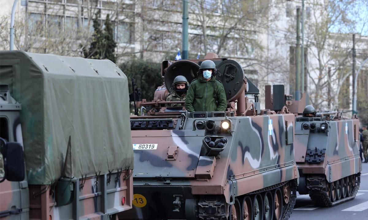 25η Μαρτίου – Δείτε ζωντανά την στρατιωτική παρέλαση στην Αθήνα