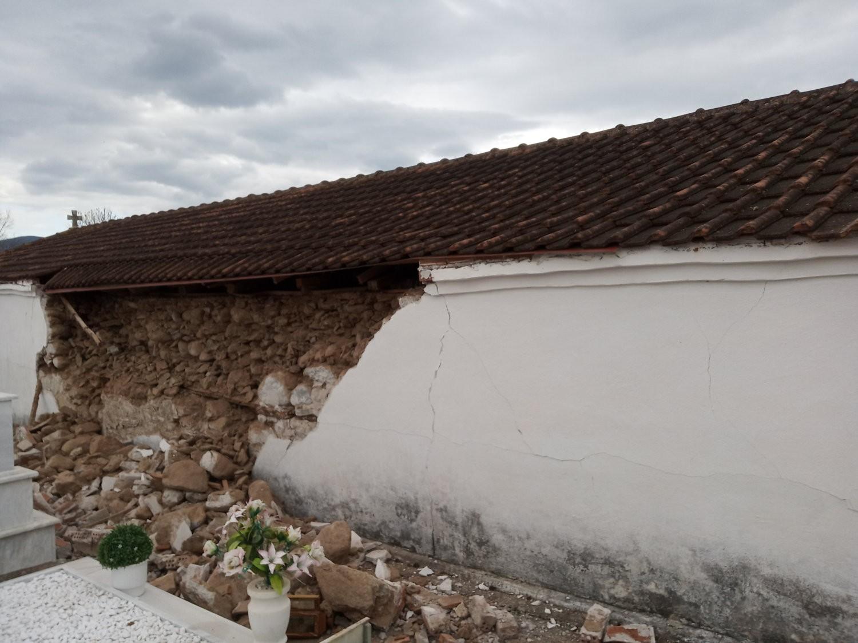 Λάρισα - σεισμός: Σημαντικές καταστροφές έχουν προκαλέσει η απανωτές σεισμικές δονήσεις που έχουν πλήξει την περιοχή εδώ και αρκετά 24ωρα.