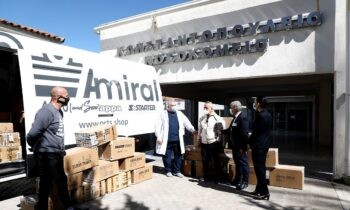 Admiral: Η Διεθνής Αθλητική ΕΠΕ στηρίζει και το υγειονομικό προσωπικό
