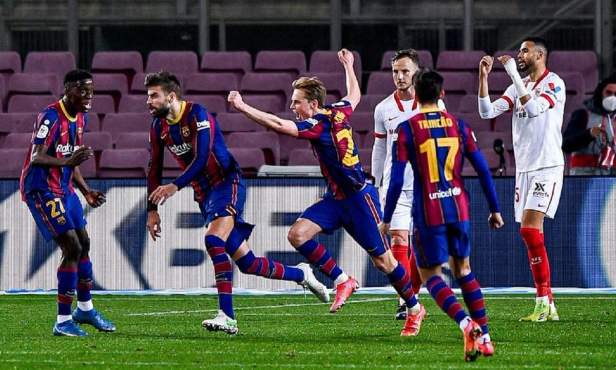 Μπαρτσελόνα – Σεβίλλη 3-0: Πρόκριση στην παράταση και τελικός