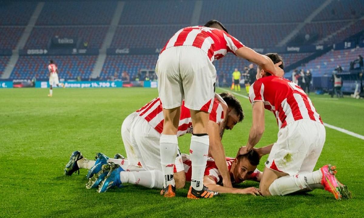Λεβάντε - Αθλέτικ Μπιλμπάο 1-2: Στον τελικό οι Βάσκοι