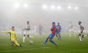 Κρίσταλ Πάλας - Μάντσεστερ Γιουάιτεντ 0-0: Πολλή ομίχλη, καθόλου μπάλα