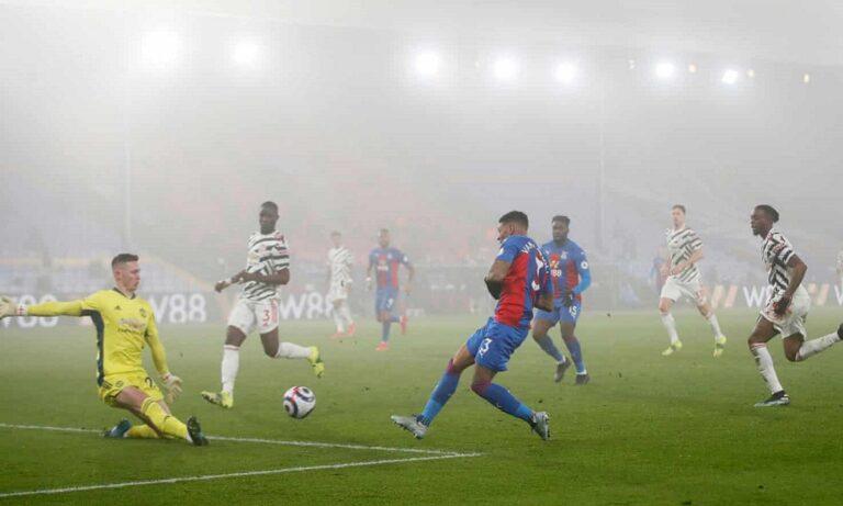 Κρίσταλ Πάλας – Μάντσεστερ Γιουνάιτεντ 0-0: Φουλ ομίχλη, μηδέν μπάλα