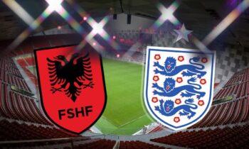 Αλβανία - Αγγλία LIVE