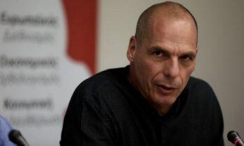 Βαρουφάκης: «Εκλογές τον Μάιο γιατί... τους συμφέρει η πανδημία!»