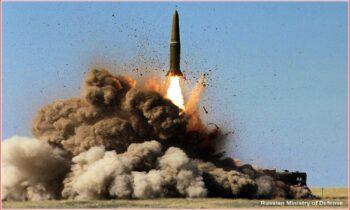 Ρωσία: Ρωσικοί βαλλιστικοί πύραυλοι, πιθανότατα Iskander, φαίνεται να ευθύνονται για τον βομβαρδισμό βυτιοφόρων που μετέφεραν πετρέλαιο.