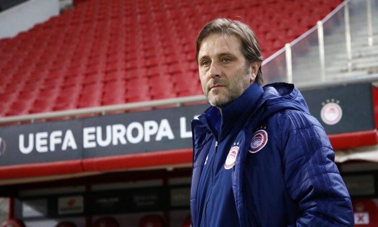 Μαρτίνς: «Πρέπει να ξεκουραστούν οι παίκτες  – Θα ήταν καλό να γίνει νωρίτερα ο τελικός κυπέλλου»