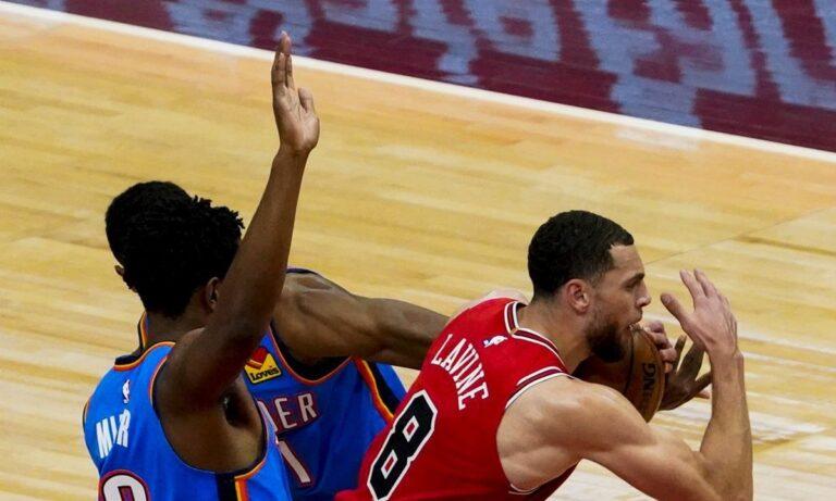 NBA-Μπουλς: Ο ΛαΒίν «έπιασε» τον Τζόρνταν