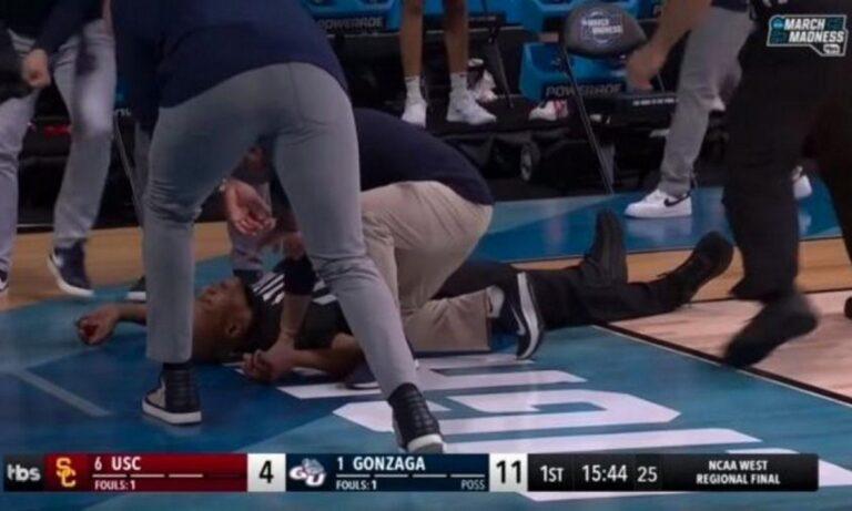 NCAA: Kατέρρευσε διαιτητής της ώρα του παιχνιδιού (vid)