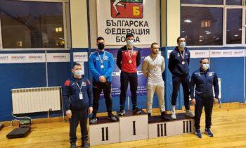 Πάλη: Το ασημένιο μετάλλιο στο διεθνές τουρνουά Πάλης Νέων Ανδρών – U23 Petko Sirakov – lvan lliev κατέκτησε ο Δημήτρης Τσομπανούδης.