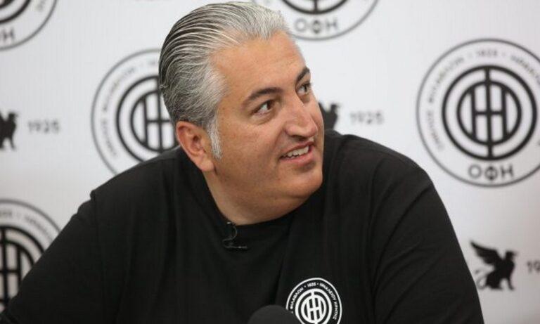 Μπούσης: «Αν κερδίζαμε την ΑΕΛ θα ήταν όλα εντάξει – Η ομάδα θα παραμείνει στην κατηγορία»