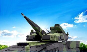 SkyRanger-30: Είναι γερμανικό, για αντιαεροπορική άμυνα στο πολύ μικρό βεληνεκές, πυροβόλο των 30 χιλιοστών και αντιαεροπορικά βλήματα.