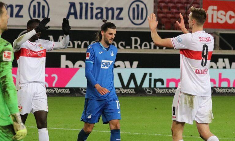 Στουτγκάρδη – Χόφενχαϊμ 2-0: Νίκησε και βλέπει εξάδα (vid)