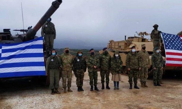 Ένοπλες δυνάμεις: Την άψογη συνεργασία του ελληνικού στρατού με αντιπροσωπεία του αμερικάνικου, απέδειξε η κοινή άσκηση των δύο χωρών, στην Ξάνθη.