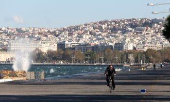 Θεσσαλονίκη: Βούτηξε στο Θερμαϊκό για να σώσει τυφλό σκυλάκι (vid)