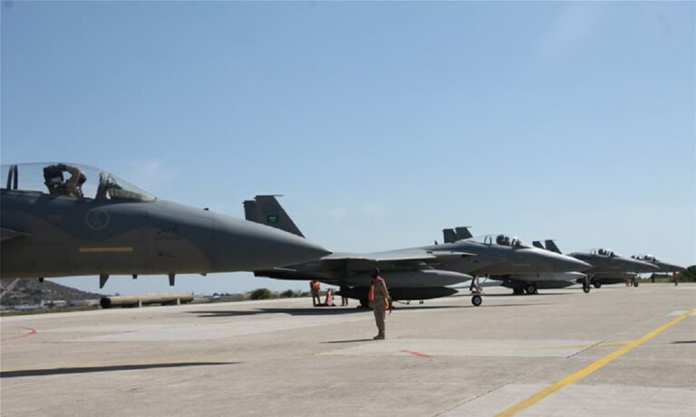 Ελληνοτουρκικά: Στη Σούδα έξι αεροσκάφη F-15C της Πολεμικής Αεροπορίας της Σαουδικής Αραβίας