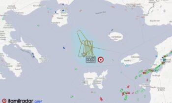 Ελληνικά υποβρύχια: Οι Τούρκοι σήκωσαν δίπλα στο Τσεσμέ το πρόσφατο απόκτημα του ναυτικού τους, το ATR-72MPA, ψάχνοντας τα 214.