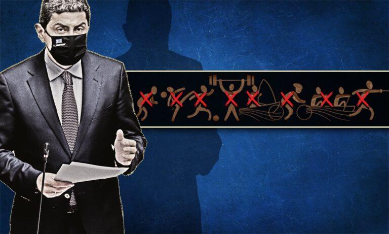 Ο Λευτέρης Αυγενάκης έχει ζαλιστεί από τις «καρπαζιές» και πανηγυρίζει τις αμέτρητες ήττες του!