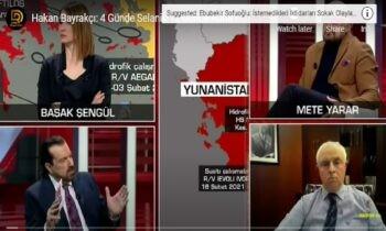 Τούρκοι: Θα μπούμε σε 4 μέρες στην Θεσσαλονίκη και σε 12 μέρες στην Αθήνα υποστηρίζει ο Τούρκος αναλυτής, Χακάν Μπαϊρακτσί, στο CNNTURK