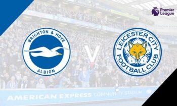 Μπράιτον-Λέστερ: Παρακολουθήστε LIVE από το Sportime τη σαββατιάτικη (6/3) αναμέτρηση για την 27η αγωνιστική της Premier League.