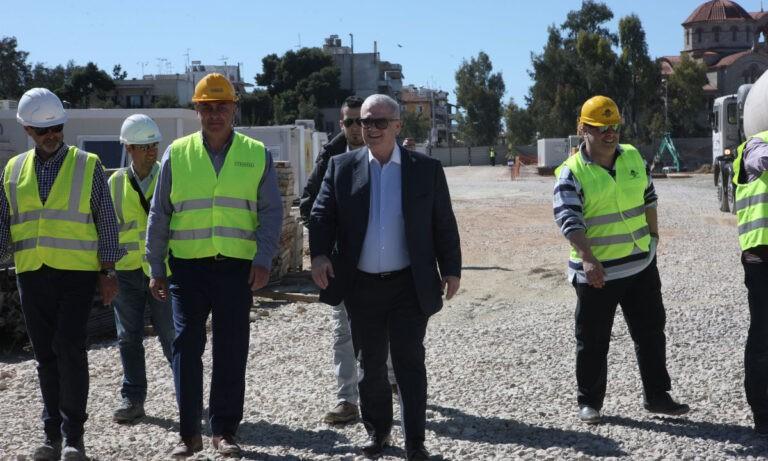 Μελισσανίδης: Επιθεώρησε την «Αγιά Σοφιά-OPAP Arena»
