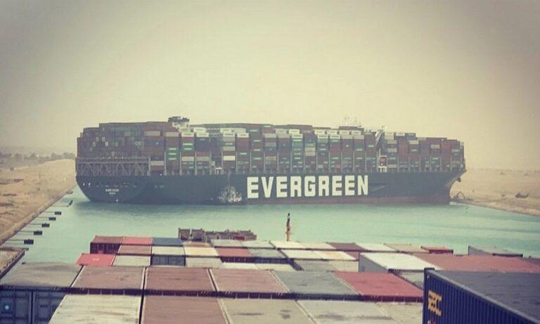 Διώρυγα του Σουέζ: Το πλοίο που σχημάτισε… ανδρικό μόριο με τη ρότα του και μπλόκαρε τα πάντα (pics)