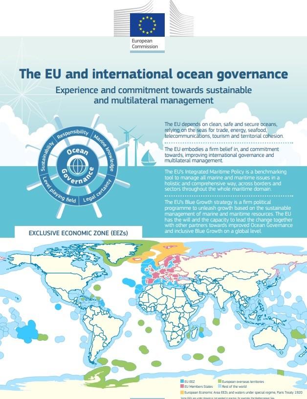 Τουρκία: ΣΟΚ στην Άγκυρα από χάρτη της Ε.Ε. για τις ευρωπαϊκές ΑΟΖ όπου φαίνονται ενωμένες κυπριακή και ελληνική ΑΟΖ.