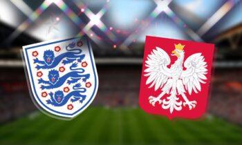 Αγγλία-Πολωνία: Το LIVE του Sportime για την αναμέτρηση στο πλαίσιο της προκριματικής φάσης του Παγκοσμίου Κυπέλλου 2022.