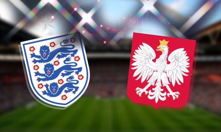 Αγγλία – Πολωνία 2-1 (ΤΕΛΙΚΟ)