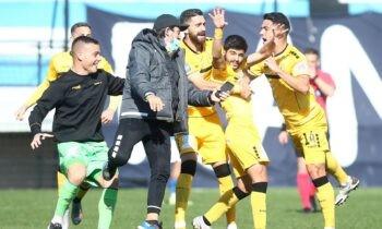 Τεράστιας σημασίας νίκη πήρε ο Εργοτέλης στην έδρα του Ιωνικού για τη 12η αγωνιστική της Super League 2, επικρατώντας με 2-3.