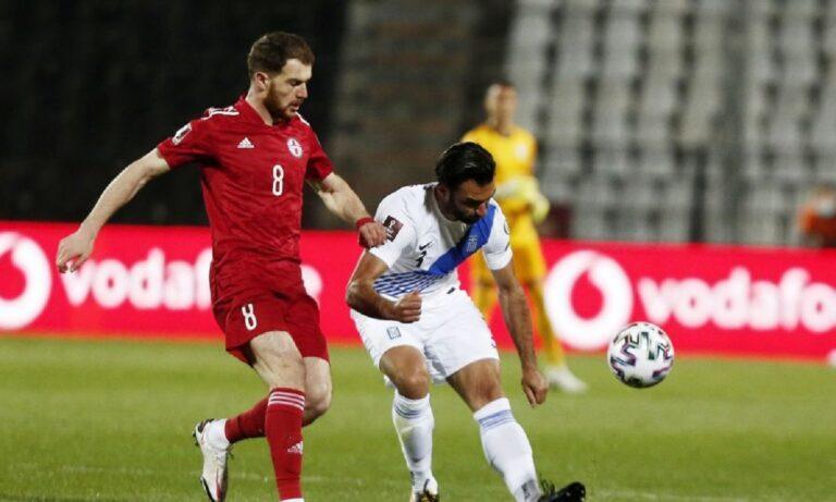 Ελλάδα – Γεωργία 1-1 (ΤΕΛΙΚΟ)