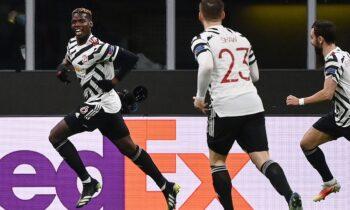 Europa League: Ο Πογκμπά απέκλεισε τη Μίλαν