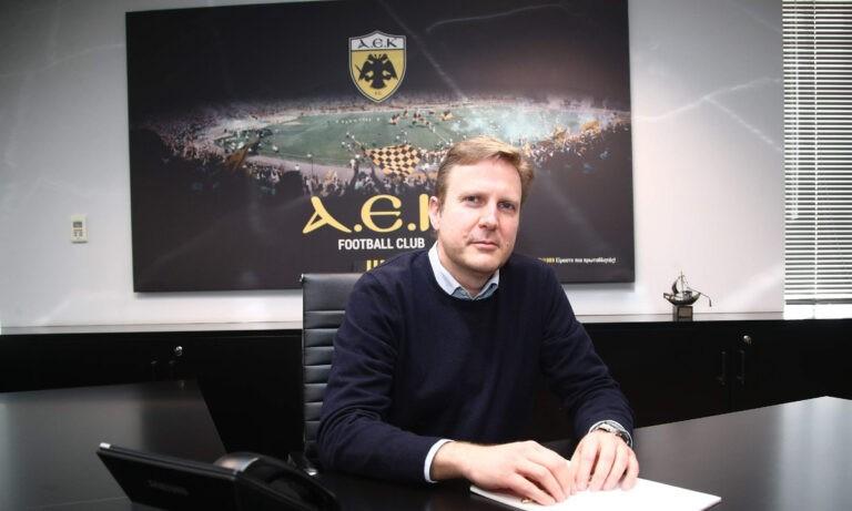 ΑΕΚ: Πως επέλεξε ο Μελισσανίδης τον Κοσμά ως CEO
