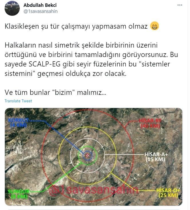 Τούρκοι: Δεν φοβούνται τα ελληνικά Mirage 2000-5 και το διαφημίζουν, τονίζοντας τις δυνατότητες των τουρκικών μέσων αεράμυνας.