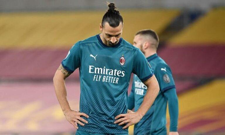 Ιμπραΐμοβιτς: Χάνει τα ματς με την Μάντσεστερ Γιουνάιτεντ