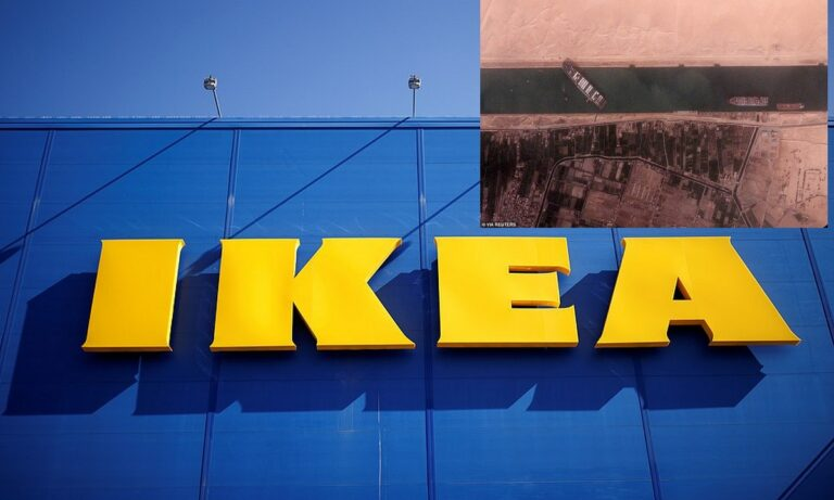 ΙKEA: Ξεμένει από έπιπλα λόγω… Σουέζ – Ανησυχία από εκπρόσωπο της εταιρείας