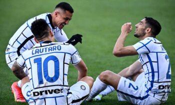 Η Ίντερ πέρασε και από την έδρα της Τορίνο με 1-2 και οδεύει ολοταχώς προς την κατάκτηση του σκουντέτο, ξανά μετά το 2010!