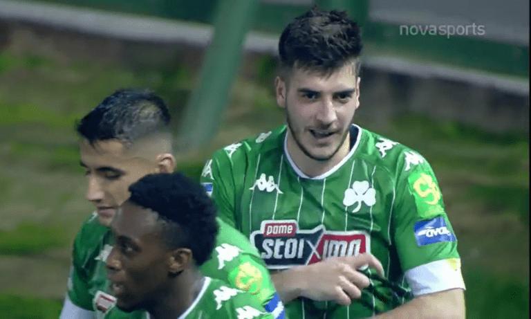 Παναθηναϊκός – ΠΑΟΚ: Ο Ιωαννίδης διπλασίασε τα γκολ των «πράσινων» (vid)