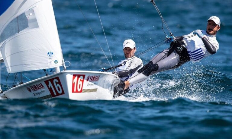 Στην πρώτη 10άδα τα δύο ελληνικά σκάφη στο Παγκόσμιο πρωτάθλημα 470